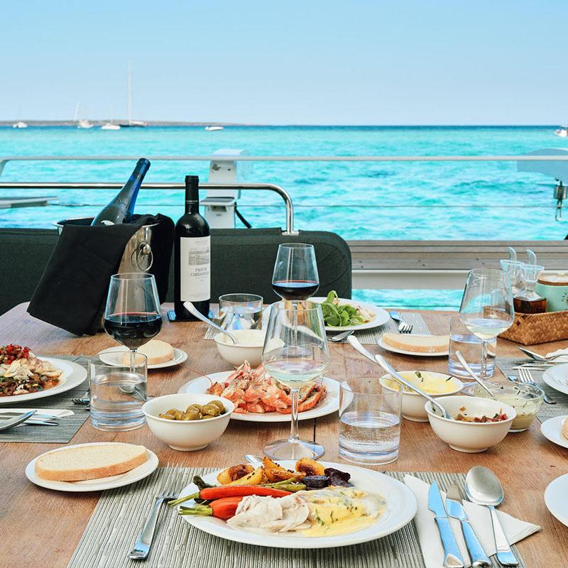 Catamaran Ibiza Menu 18